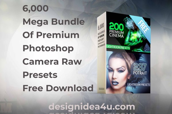 6,000 Mega Bundle Of Premium Photoshop Camera Raw Presets Free Download