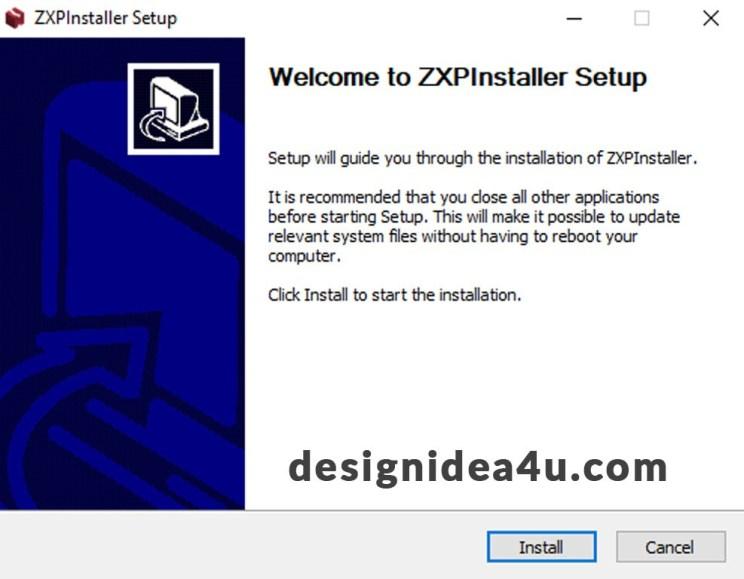 ZXPInstaller Free Download For Lifetime 2020