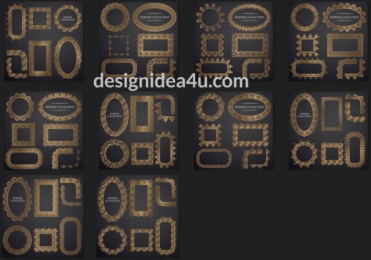 Ornamental Frame Vector - Decorative Frames And Borders
