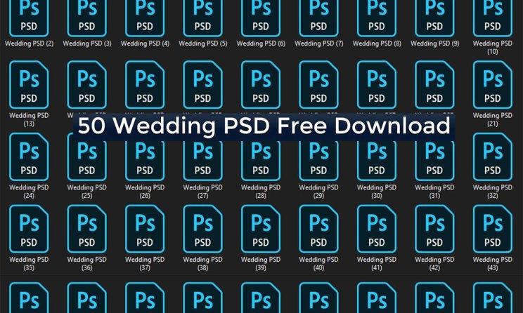 50 Best Wedding Album PSD Templates Bundle Free Download