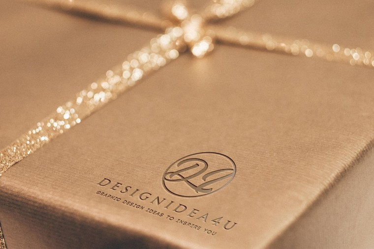 Luxury Logo Mockup - Free Logo Mockup PSD Template