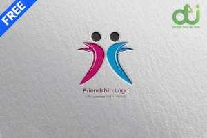 Best Friends Logo Design Vector and PNG Free Download