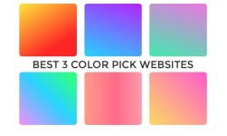 Best 3 Color Picker Websites