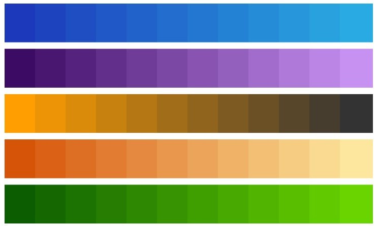 Best Gradient Color Combinations For Illustrator Free Download