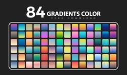 Gradient Color Palettes For Illustrator