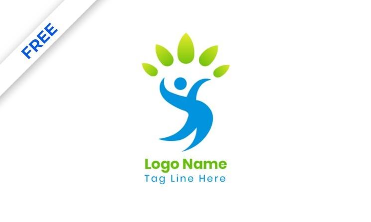 Creative Tree Logo - Human Tree Concept Logo Design Template