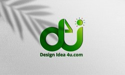 Simple realistic paper pressed logo psd mockup | Paper logo mockup