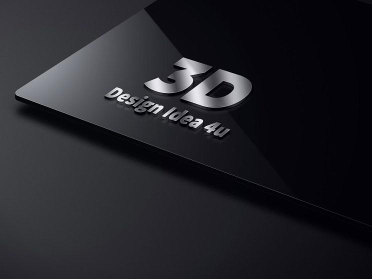 logo mockup psd free