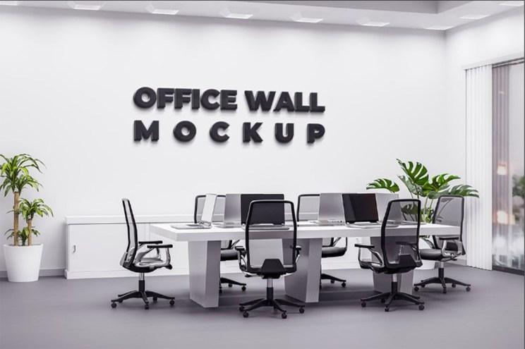 mockup office