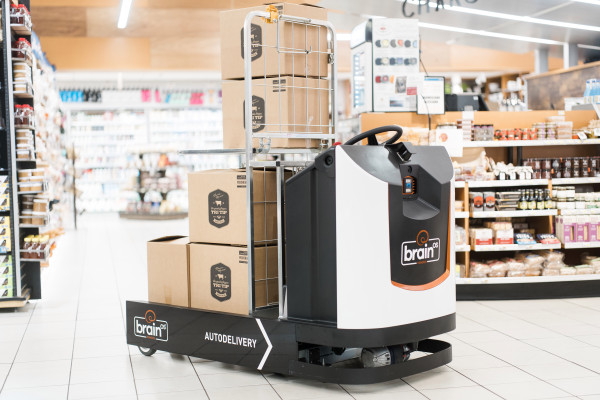 [TECH NEWS] Brain Corp debuts an autonomous delivery robot for factories and retail