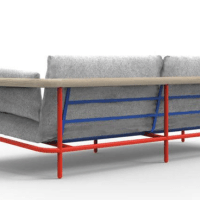 #DesignOfTheDay: X-Ray sofa by Alain Gilles for La Chance