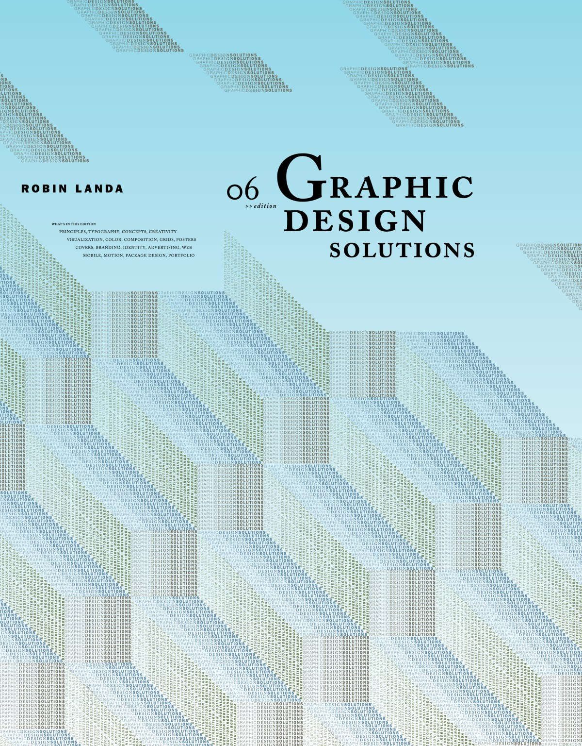 Robin Landa's 6th Edition of Graphic Design Solutions