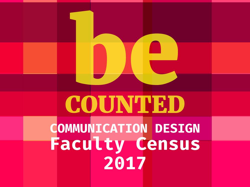 Communication Design Faculty Census 2017