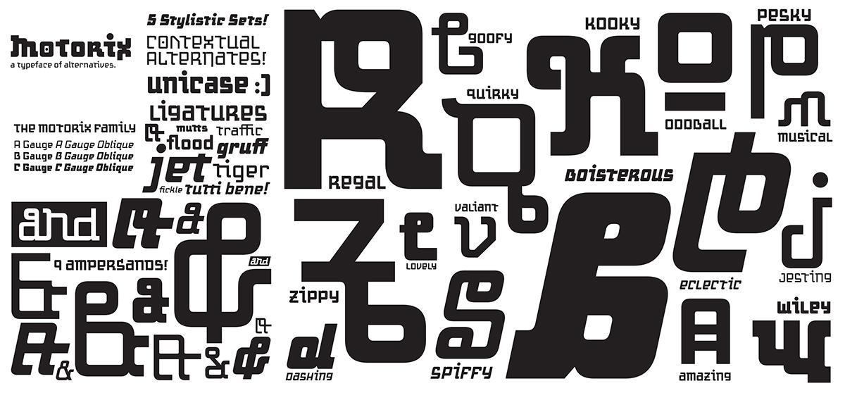 Variant Letterforms