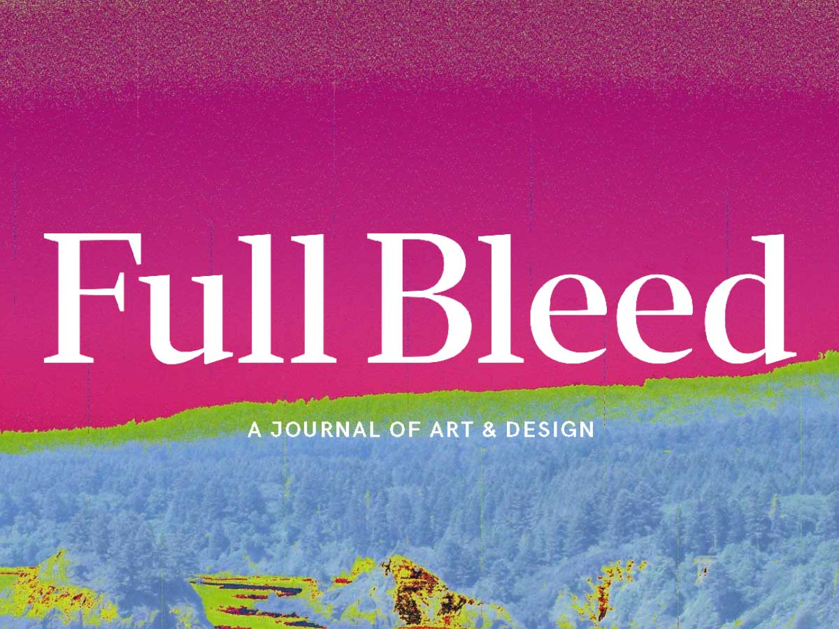 CFP — Issue 4: Archives | Full Bleed: A Journal of Art & Design