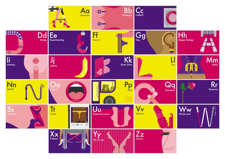 Paul Pateman's A To Z Of Sex And Disability  Design Indaba