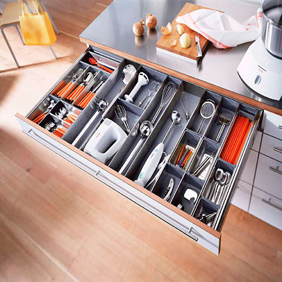 kitchen tray bulletin board modular drawer accessory dealer delhi india metal cutlery