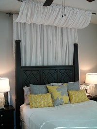Tuesdays Tips: Use Curtains/Rods for Bed Canopies ...