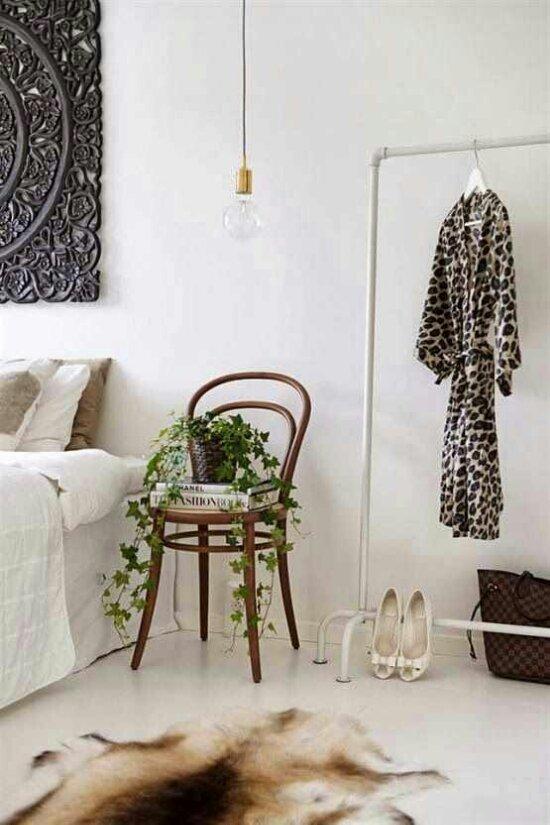 Bedside table VS bedside chair  Design Indulgences