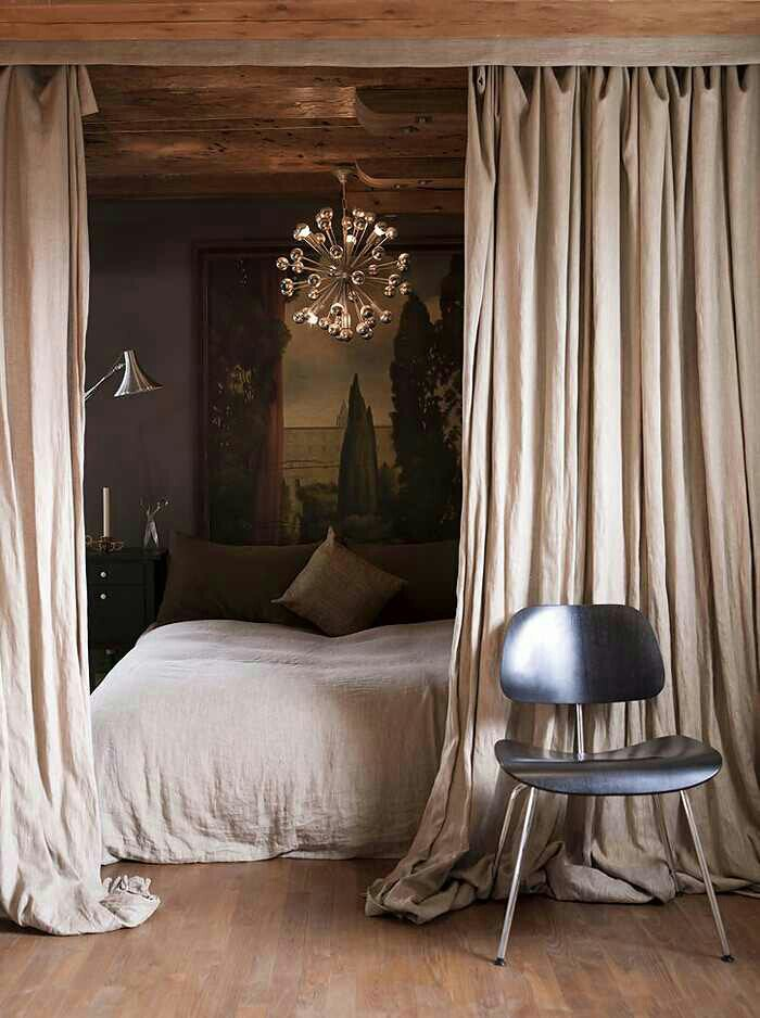 Hang Curtains Around Bed From Ceiling Decorate Our Home With