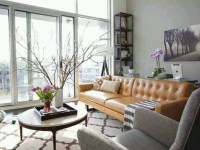 Camel hued sofas and chairs  Design Indulgences