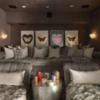 Kourtney & Khloe Kardashian's homes in Architectural Digest...