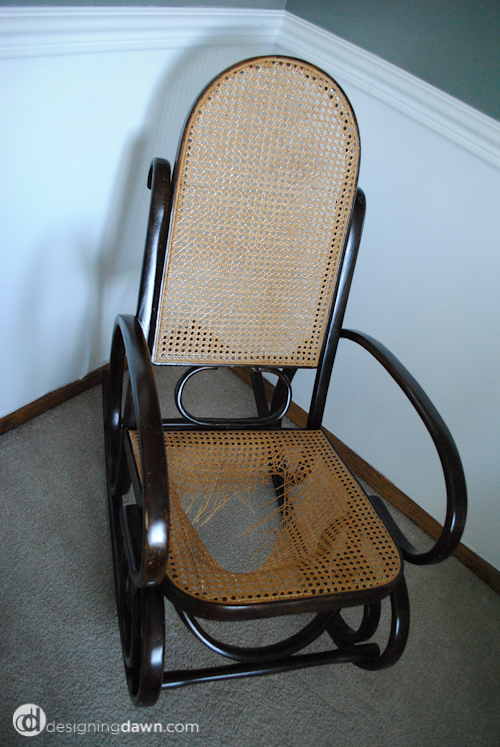 Pimp My Furniture: Rocking Chair Revival- Part I