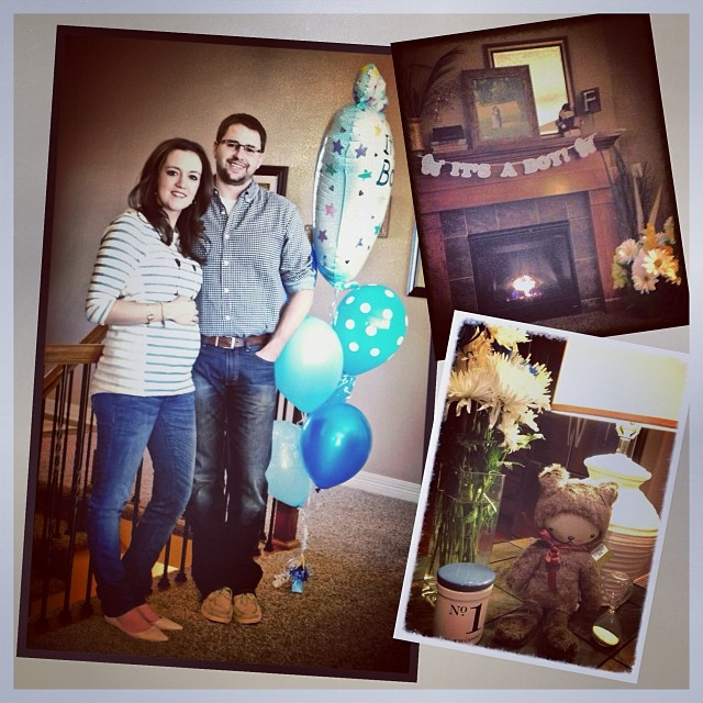 Dania & Chad - It's a boy!