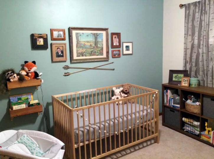 Brette's Woodland Nursery on DesigningDawn.com
