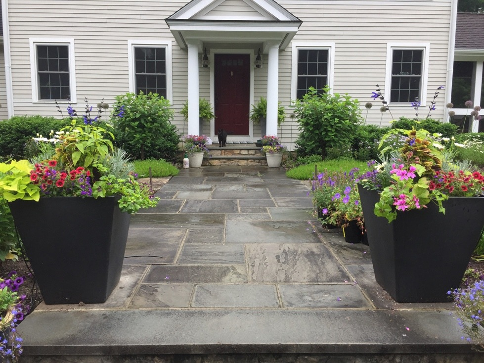 A Welcoming Front Entry