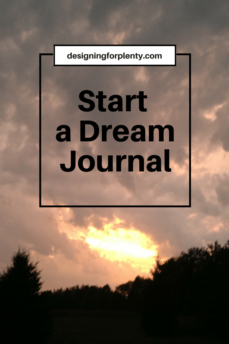 dream journal, self-help, advice