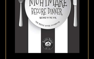 Halloween, the nightmare before dinner, cookbook, book review, zach neil, beetle house