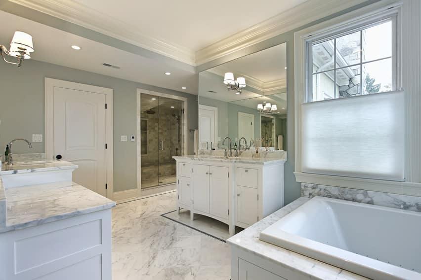 25 White Bathroom Ideas Design Pictures  Designing Idea