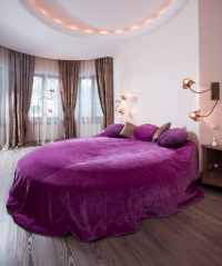 Purple Romantic Bedrooms