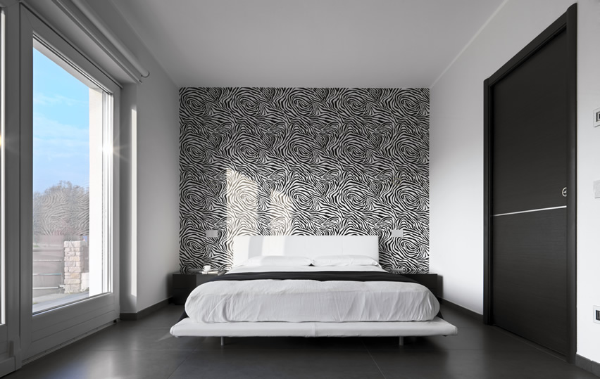 Image Result For Blue And Black Wallpaper For Bedrooms