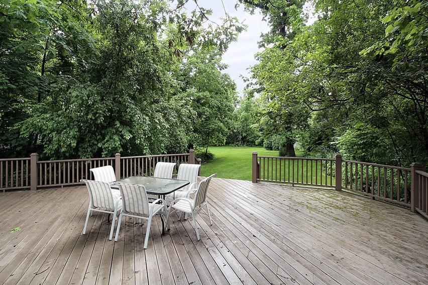 Backyard Deck Railing Ideas