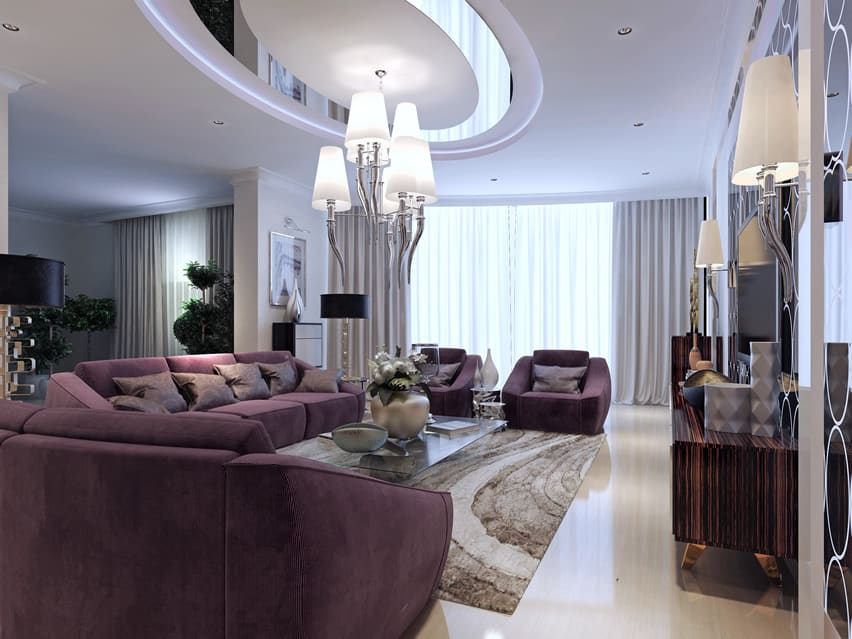 67 Luxury Living Room Design Ideas