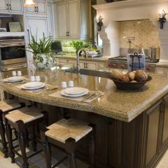 Eat In Kitchen Island Kidkraft Red Vintage 53173 81 Custom Ideas Beautiful Designs Designing Idea With Tan Granite Counters