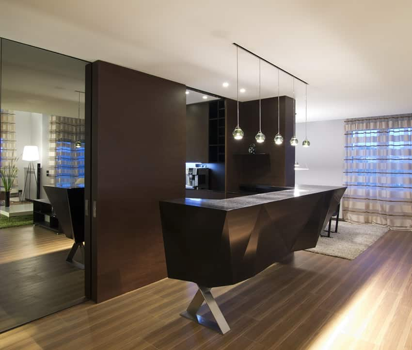 17 Beautiful Modern Wet Bar Designs  Architecture Plans