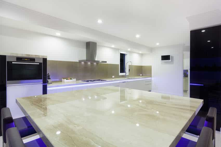 square kitchen island clearance cabinets 81 custom ideas beautiful designs designing idea modern with neon lighting