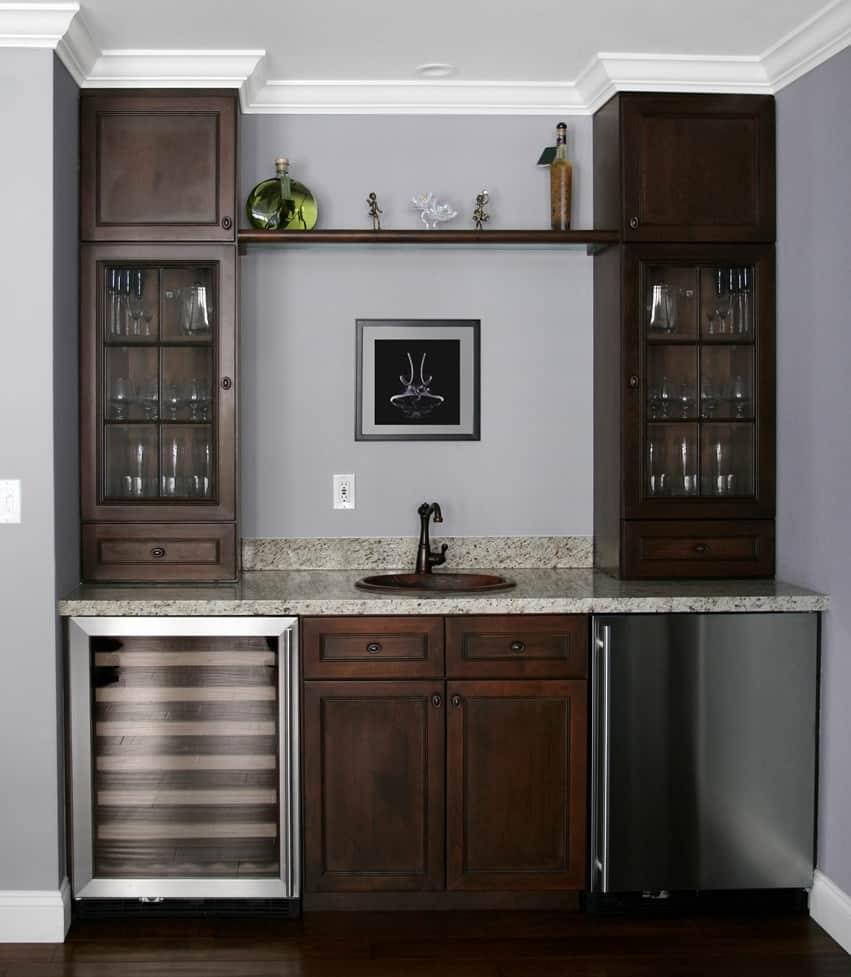 Wine Fridge Cabinet Ideas  Cabinets Matttroy