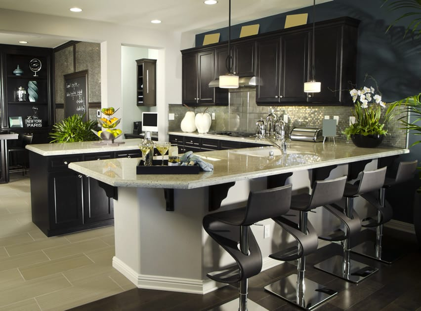 kitchen cabinet faces gray table and chairs 37 l-shaped designs & layouts (pictures ...