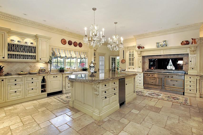 L Shaped Kitchen Island Designs