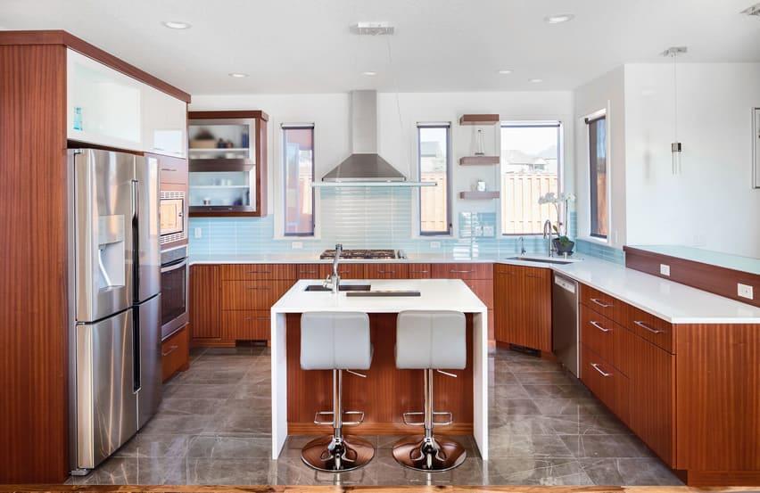 L Shaped Kitchen Designs Layouts