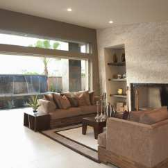 Ideas How To Decorate A Living Room Rustic Chic Designs 45 Beautiful Decorating Pictures Designing Idea Open With View Of Water Feature