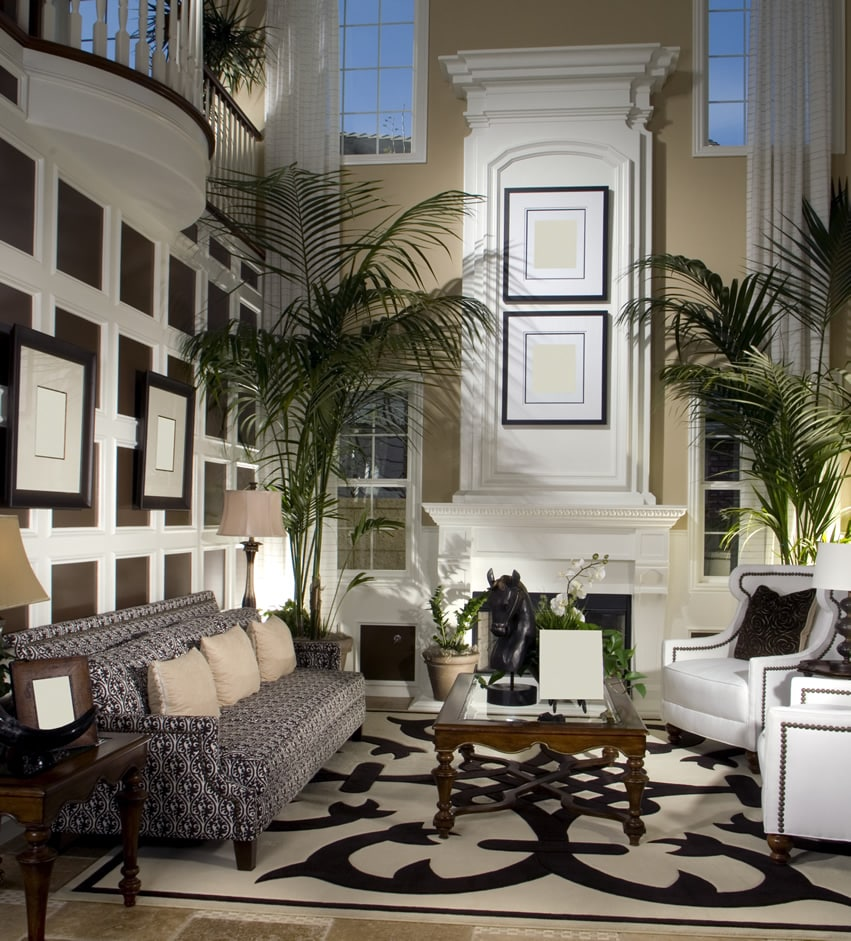 photos of beautifully decorated living rooms bar ideas for room 45 beautiful decorating pictures designing idea custom design with tall ceiling