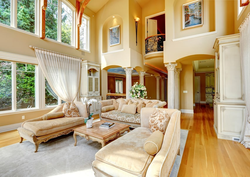 elegant living room decorating ideas pretty colors 45 beautiful pictures designing idea with high ceiling