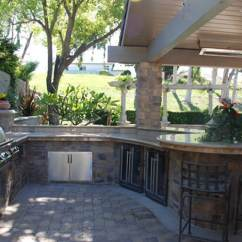 Outdoor Kitchen Bar Cooking Sets 37 Ideas Designs Picture Gallery Designing Idea Large With Curved Counter And Stools
