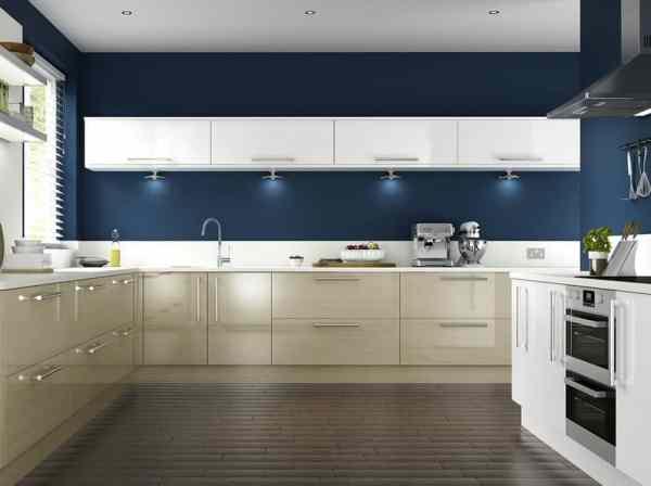 dark navy blue kitchen walls 27 Blue Kitchen Ideas (Pictures of Decor, Paint & Cabinet