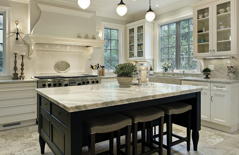 types of kitchen counters vintage cabinets for sale countertops (image gallery) - designing idea